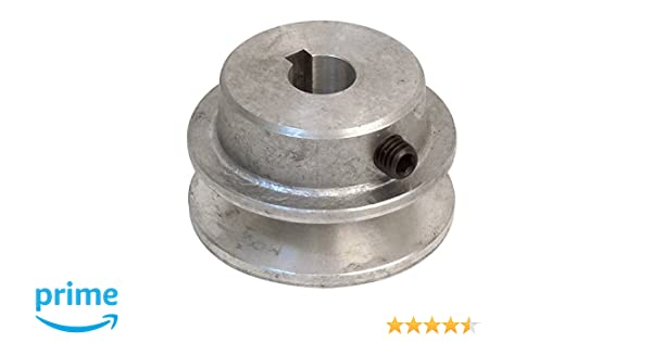 24-mm-Bohrung Fartools 117260 Riemenscheibe aus Aluminium Durchmesser 12 cm