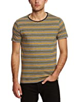 SELECTED HOMME Herren T-Shirt, gestreift 16031163 Andy ss o-neck