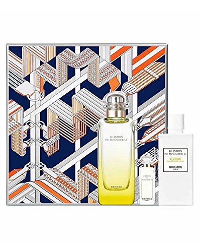 Hermes Jardin de Monsieur Li Set Eau de Toilette 100 ml + Eau de Toilette Mini 7,5 ml + Body Lotion 80 ml -