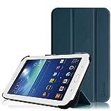 Fintie Samsung Galaxy Tab 3 7.0 Lite T110 T111 T113 T116 Hülle Etui Case - ultradünn Schutzhülle Tasche SlimShell Cover mit Ständer für Galaxy Tab 3 7.0 Lite (7 Zoll) Tablet, Marineblau