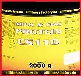 M&E Protein CS 110 4kg Milk&Egg Eiweiß Muskelaufbau Vanille (EUR16,23/kg)