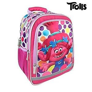 511KYlFuccL. SS300  - Mochila Escolar Premium Trolls