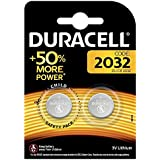 Duracell Specialty 2032 Lithium Coin Battery 3 V, Pack Of 2