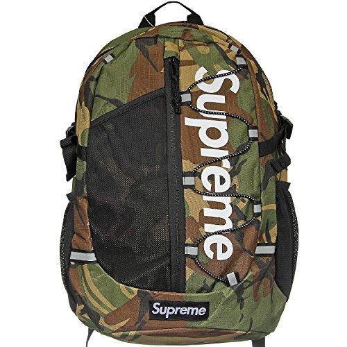Supreme Italia Unisex Rucksack Bagpack Tasche Streetwear rot schwarz blau kamo (kamo (1108))