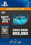 Grand Theft Auto Online: Tiger Shark Cash Card [PS4 PSN Code - UK account]