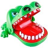 Odoukey Crocodile Toy Dinosaur Mordre Doigt Jeu Drôle Jouets Crocodile Dents Jouets Jeu Interactif Jouet pour Enfants Figurin