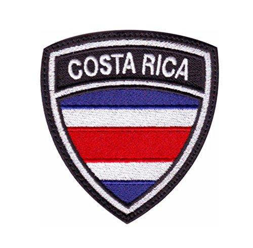 MAREL Patch Flag Bandera COSTA RICA parche termoadhesivo