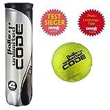 16 Tennisbälle Unlimited Black Code 4 X 4er Dose Testsieger Tennismagazin 08/2014