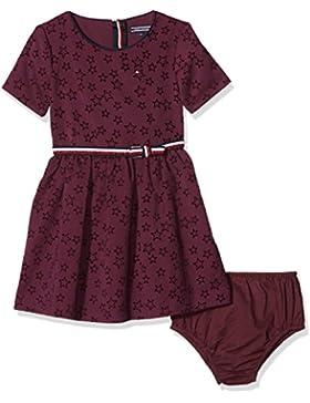 Tommy Hilfiger H Texture Dress S/S, Vestito Bambina