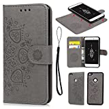 P8 Lite 2017 Case Leather, Huawei P8 Lite 2017 Case Wallet