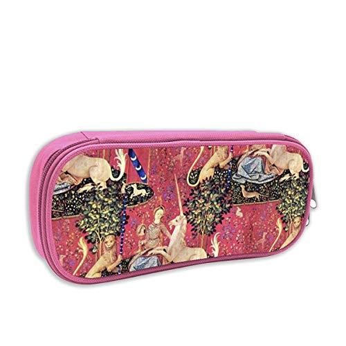 astuccio per bambini portatutto,The Lady U0026 The Unicorn Tapestry ~ Medium_2420, rosa