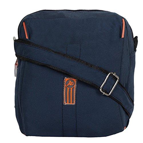 colour blind Unisex Polyester 5 L Messenger Bag(Blue)