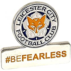 Oficial Leicester City FC # befearless Pin Badge