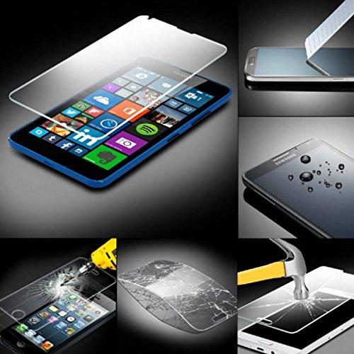 MPG Handy Schutzfolie für Nokia Lumia 730 Folie Panzerglas Panzerfolie Bildschirmschutzfolie (Doppelpack, 2 Stück)