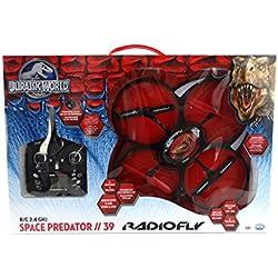 ODS Radiofly Jurassic World - Space Predator // 39 - drones con cámara (Negro, Rojo, De plástico, Polímero de litio, AA)