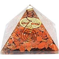 Humunize Red Jasper mit Bleistift und Münzen Orgon Pyramide Chakra-Energie-Generator Reiki Stein Fen Shui Geschenk preisvergleich bei billige-tabletten.eu