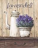 Artland Qualitätsbilder I Fine-Art Kunstdruck Wandbild Gemälde auf Holz - Größe 39 x 49 cm - Stillleben Vasen & Töpfe A1TL