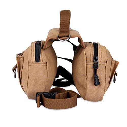 POPETPOP Paquete de Perro Hound Travel Senderismo Mochila de Viaje Saddle Bag...