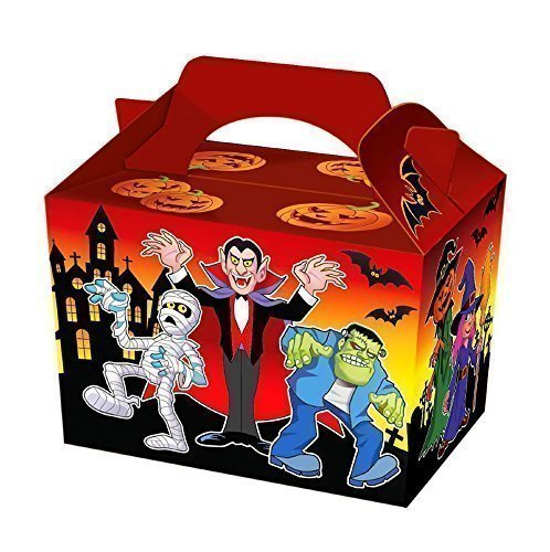 Fifteen Halloween Party Meal / Treat Boxes