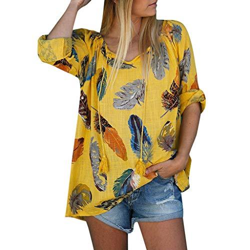Damen Boho Tunika Hippie Verband Quaste Knopfdruck Feder Kleid Gestickt Blumen Mexikanische Bluse