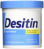 DESITIN RAPID RELIEF CREAMY NAPPY CREAM - 454G (16oz)