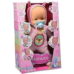 Nenuco Muñeco, Blandito 5 Funciones, Color Rosa (Famosa 700013381)