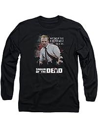 Shaun Of The Dead - Hero hommes doivent se lever à manches longues T-shirt