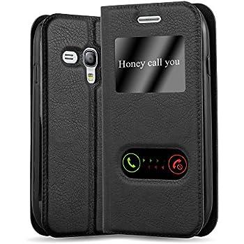 Samsung EFC-1M7FWEC Étui en cuir à rabat pour Samsung Galaxy S3 Mini Blanc: Amazon.fr: High-tech