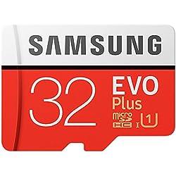 Samsung Mo de mc32ga/AMZ Carte mémoire, 32Go Transparent [Emballage gratuit Amazon Frustration]