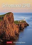 Schottland - Kalender 2018: Wochenplaner, 53 Blatt mit Zitaten und Wochenchronik