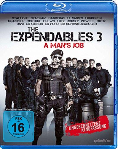 Bild von The Expendables 3 - A Man's Job - Ungeschnittene Kinofassung - Dolby Atmos [Blu-ray]
