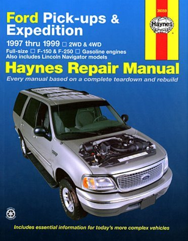 haynes-repair-manual-ford-pick-ups-expedition-1997-thru-1999-haynes-by-jay-storer-1999-05-15