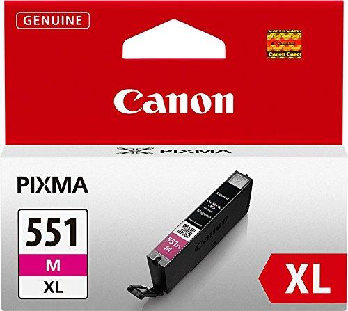 Canon CLI-551XL M original Tintenpatrone  Magenta XL für Pixma Inkjet Drucker MX725-MX925-MG5450-MG5550-MG5650-MG6350-MG6450-MG6650-MG7150-MG7550-iP7250-iP8750-iX6850