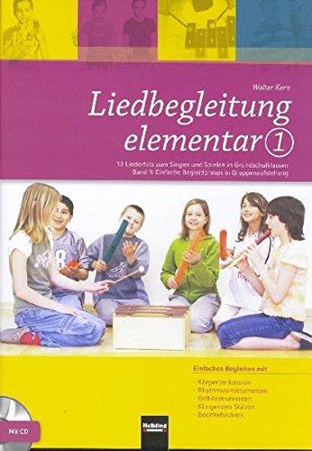 Liedbegleitung elementar 1, m. Audio-CD/CD-ROM