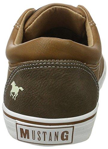 Mustang 4101-303-301, Sneakers Basses Homme Marron (301 Kastanie)