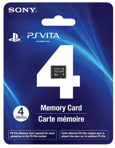 Sony PS Vita 4GB Memory Card