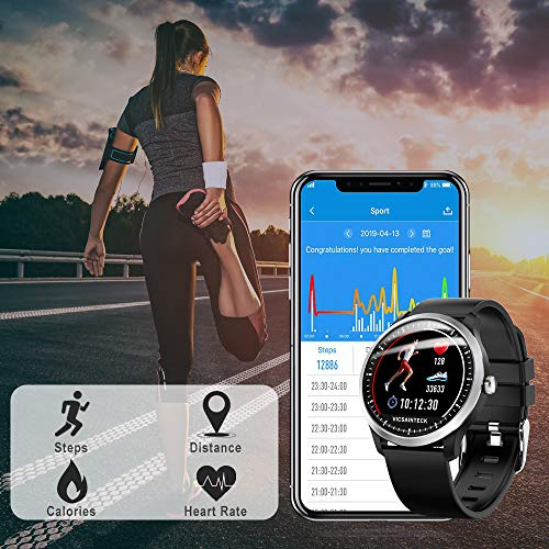 Zoom IMG-3 fitness tracker smartwatch android ios