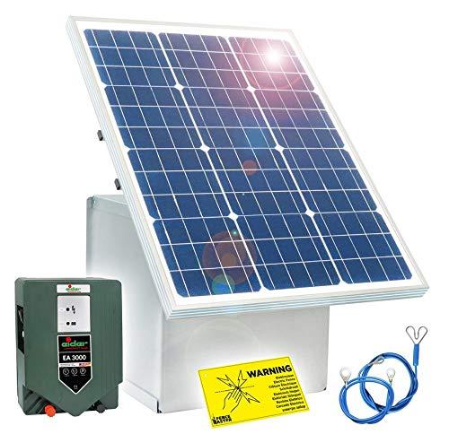 Eider 50W Solar Box & 12V Weidezaungerät EA 3000 Paket 1 -