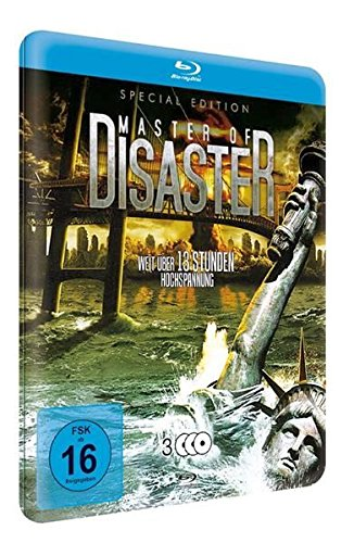 Master of Disaster S.E.-Metallbox (3 BDs mit 9 Filmen) [Blu-ray] [Special Edition]