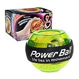 GH GHawk Gyroscope portatif - Powerball de renforcement de Poignet, Boule de Gyroscope de renforcement de la poignée, exerciseur de Bras pour Le renforcement et la réadaptation