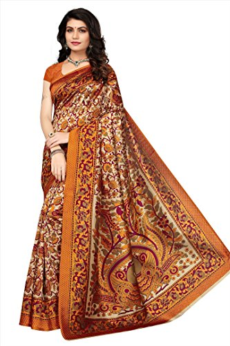 Flosive Women's mysure silk Saree With Blouse Piece (KF-S181093)