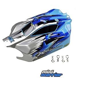 Carson 500800097 - X16 Cuerpo Buggy Mini Guerrero