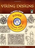 Viking Designs CD-ROM and Book (Dover Pictorial Archives)
