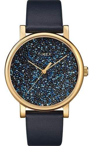 Montre Timex TW2R98100D7 Bleu Acier 316 L Femme