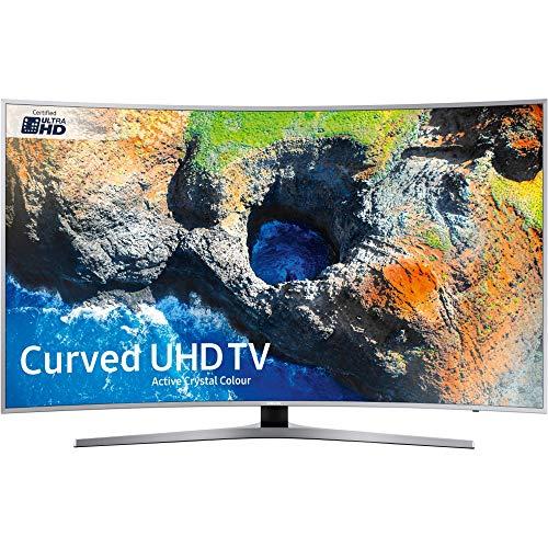 Samsung UE55MU6500UXXU 55-Inch Smart UHD Curved TV - Silver