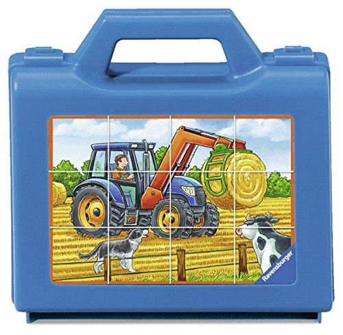Ravensburger 07432 Fahrzeuge auf dem Bauernhof (Traktor Koffer)