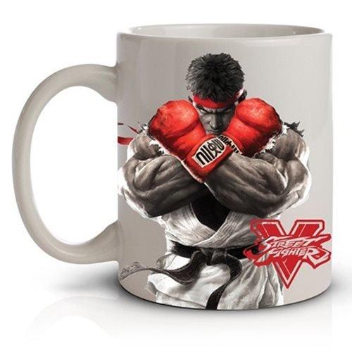 Street Fighter V Ryu 11oz Ceramic Coffee Mug