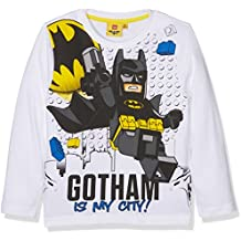 Camiseta de manga larga de Lego de Batman en color blanco