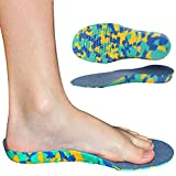 Best High Arch Inner Soles - Ailaka Kids Orthotic Cushioning Arch Support Shoe Insoles Review