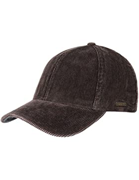 Plano Corduroy Berretto a Coste Stetson cappello a coste cotton cap berretto baseball